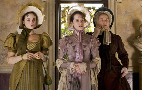 Claire Foy (Amy Dorrit, centre) wears Papilionaceous in the 2008 BBC production of Little Dorrit.