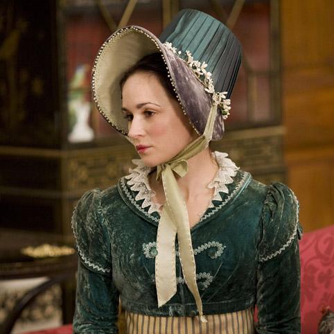 Emma Pierson (Fanny Dorrit) Papilionaceous silk hat ribbon