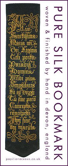 Ave Maria bookmark