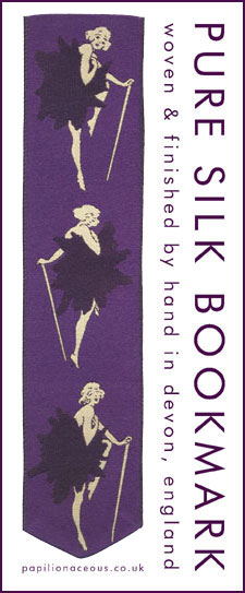 royal purple chorus line bookmark