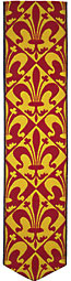 fleur de lis bookmark thumbnail