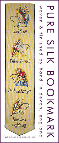 Salmon Flies bookmark