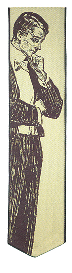 gibson girl bookmark