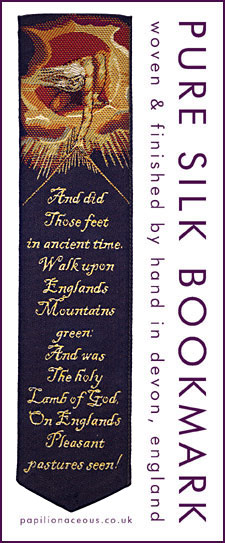 Jerusalem bookmark