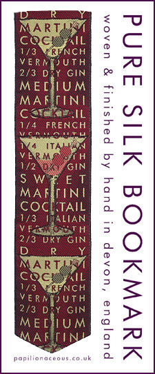red martini bookmark