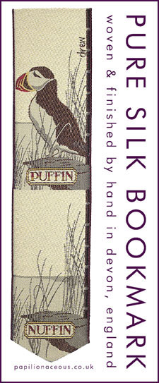 puffin nuffin bookmark