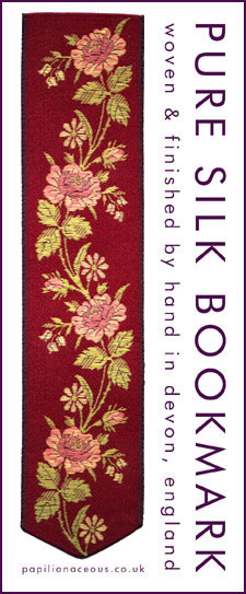red roses bookmark