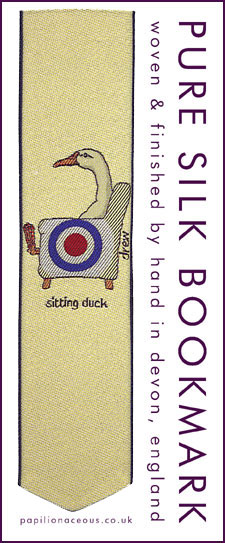 sitting duck bookmark