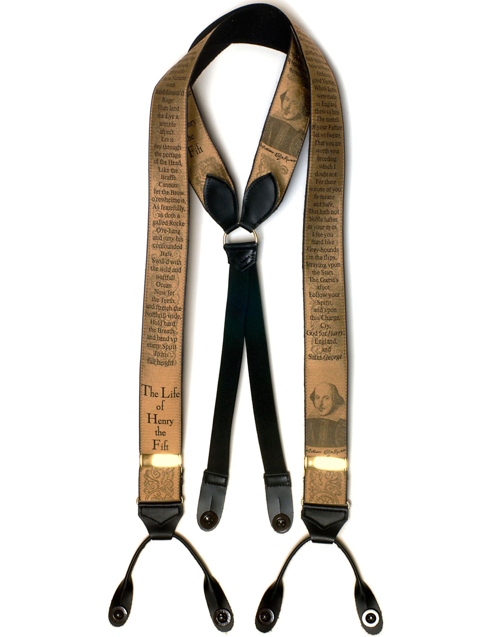 2274 Henry V Albert Thurston silk braces