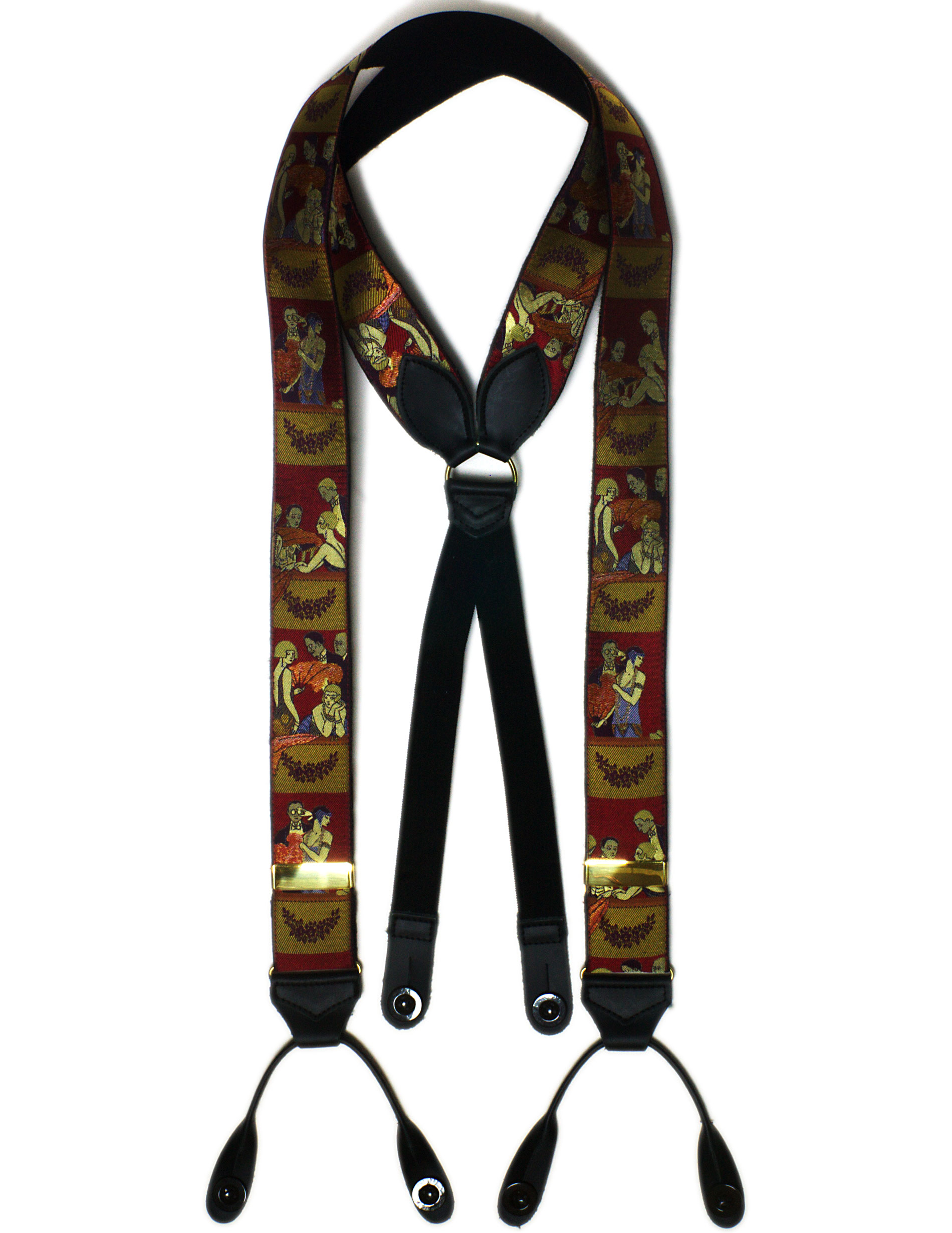 2219 Charleston Albert Thurston silk braces