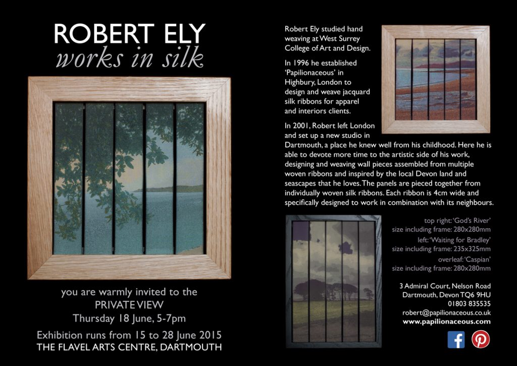 silk works by Robert Ely