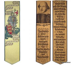 Book marks for St George's Day