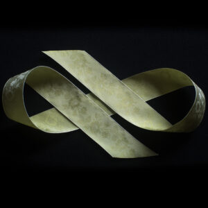 Little Dorrit silk ribbon, pale green