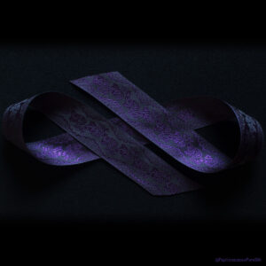Ross Royal Purple Silk Ribbon