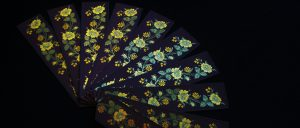 Papilionaceous silk woven bookmarks. (Stevengraphs)