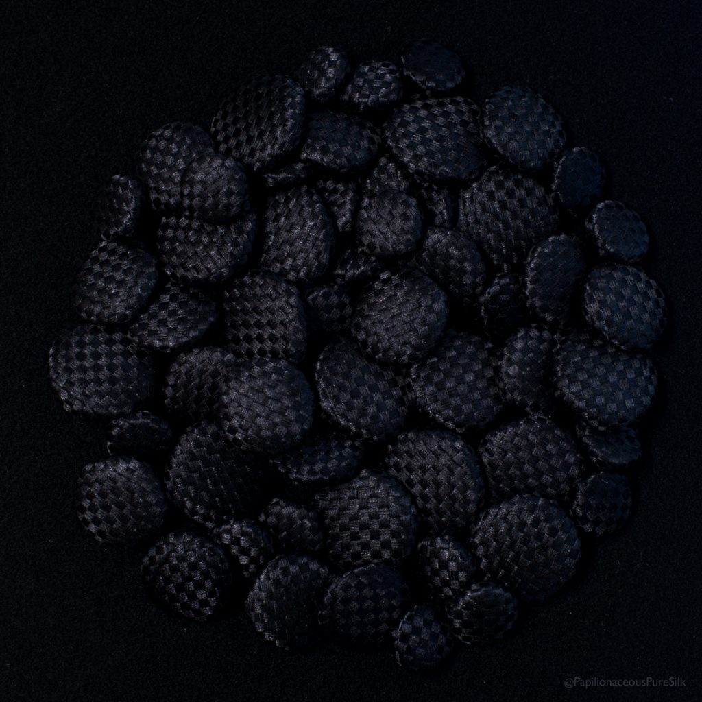 black basket weave buttons
