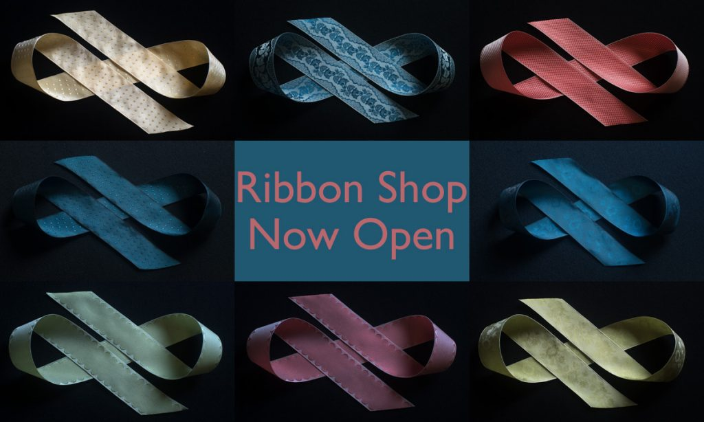 silk costume ribbons avilable at papilionaceous.com
