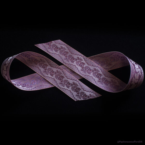 Ross Lavender Silk Ribbon