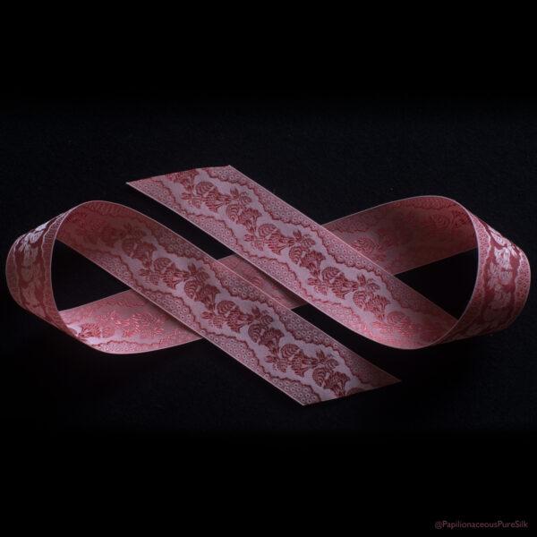 Ross Rose Silk Ribbon