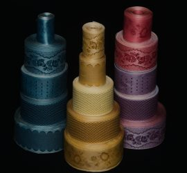 Silk costume ribbon by Papilionaceous available at papilionaceous.com