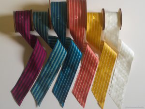 wide stripe costume ribbon