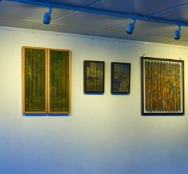 Flavel Arts Centre Dartmouth Woven Silk