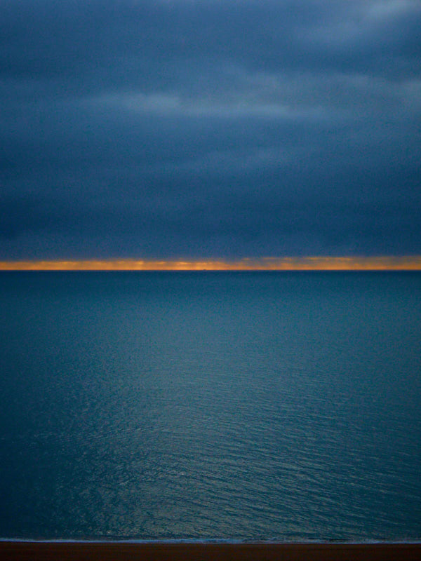 Strete Gate, Start Bay, Rothko doing the lighting.