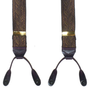 albert thurston silk braces, acorn