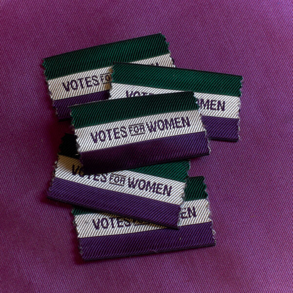 Suffragette Ribbon, dark