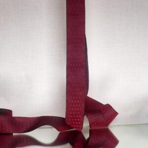 Victoria crimson silk ribbon