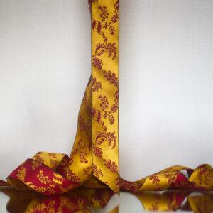 James Leman Saffron silk ribbon