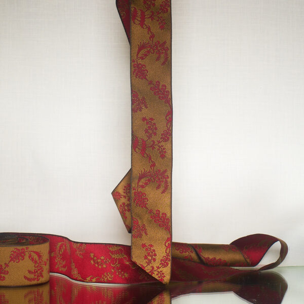 James Leman Bronze silk ribbon