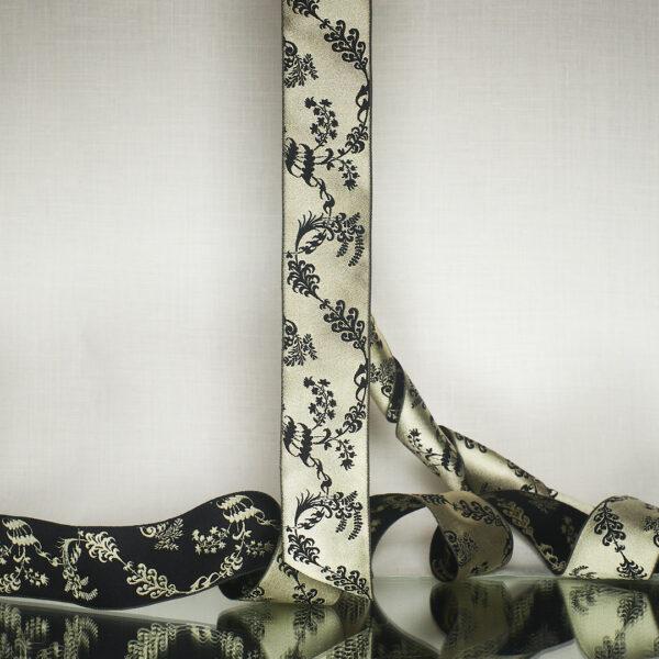 James Leman Bone silk ribbon