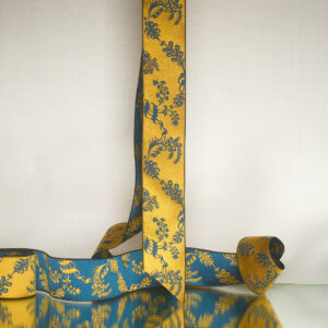 James Leman Gentian silk ribbon
