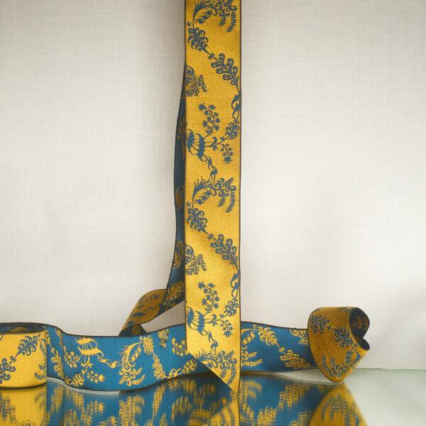 James Leman Gentian silk ribbon