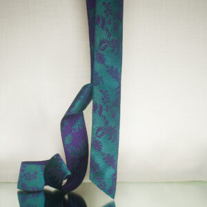 James Leman Malachite silk ribbon