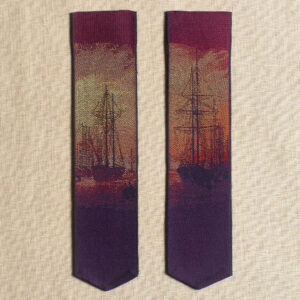Caspar David Friedrich Harbour bookmark