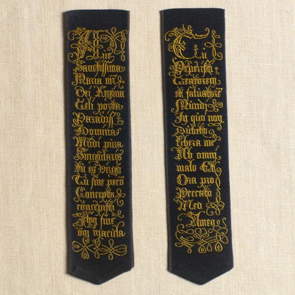 Ave Sanctissima Maria bookmark