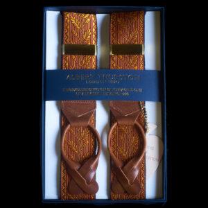 Acorn Silk Braces Saffron/Ruby