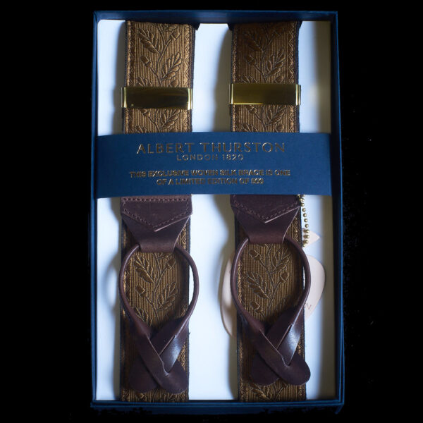 acorn silk braces - honey